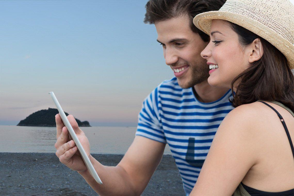 Condividi i momenti più belli con la Connessione WiFi Gratuita